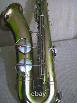 Saxophone Tenor Mod 212 New Pads Ready To Play No Case