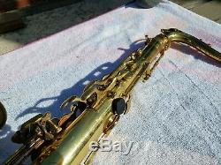Selmer 1974 Mark VI Tenor Saxophone Orig Selmer Case BEAUTIFUL SAX