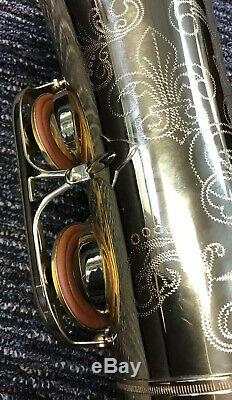 Selmer 44 Professional Tenor Saxophone TS-44 with Case Used Great Condition