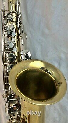 Selmer Bundy II Bb Tenor Saxophone with Case and Mouthpiece