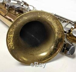 Selmer Bundy II Tenor Saxophone complete with Bundy Case, neck, MP, accessories