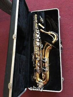 Selmer Bundy II Tenor Saxophone with Mouthpiece &Carrying Case Good Condition