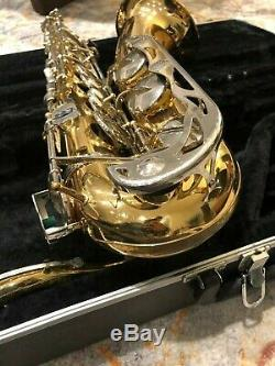 Selmer Bundy Tenor Saxophone withCase and Mouthpiece Good Pads