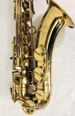 Selmer Mark VII Tenor Saxophone New Overhaul Video! New Pads/corks New Case