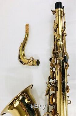 Selmer Mark VII Tenor Saxophone New Overhaul Video! New Pads/corks New Case