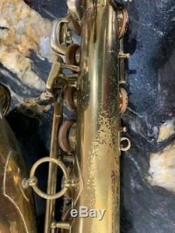 Selmer Mark VI Tenor Sax, 5-digit serial, original lacquer, neck and case
