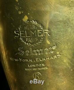 Selmer Mark VI Tenor Sax, SN103XXX(1962) Trekking Case, 2 necks, Guardala strap