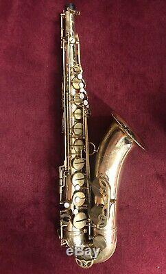 Selmer Mark VI Tenor Saxophone, #M117410, 1964, Original case, parts & lacquer