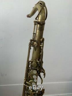 Selmer Mark VI Tenor Saxophone Serial# 194,000 With Case