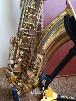 Selmer Mark VI Tenor Saxophone with Navarro mouthpiece, Original Case, and Stand