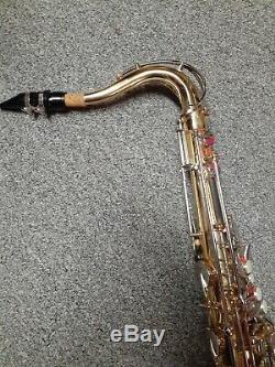 Selmer Omega Tenor Saxophone With Original Case & Mouthpiece