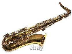 Selmer Paris Mark VI Tenor Saxophone Extraordinary Player, Original Lacquer