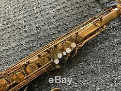 Selmer Paris Mark VI tenor saxophone Coltrane Era M122XXX Chesterfield case