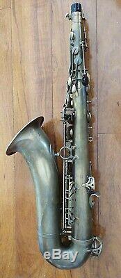 Selmer Paris Referencer 54 Professional Tenor Saxophone w Case / Vandoren MPC