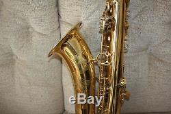 Selmer Reference 36 tenor saxophone selmer case Mp cap & lig