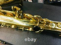 Selmer SA-80 Serie Tenor Saxophone withHard Case USED from Japan