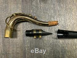 Selmer Soloist tenor saxophone complete in hard case. NICE