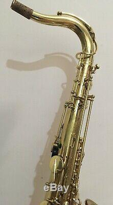 Selmer Super Action 80 Series II Tenor Saxophone Jacob Winter Case