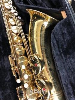 Selmer Super Balanced Action SBA Tenor Saxophone with CASE, COVER & KEYs
