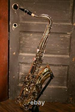 Selmer TS400 Bb Tenor Sax withCase & Mouthpiece Lightly Used