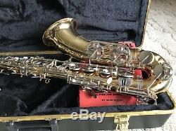 Selmer TS500 Tenor Saxophone, case, reeds, books, neck strap. Great condition