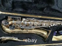 Selmer TS500 Tenor Saxophone, case, reeds, neck strap. Great condition