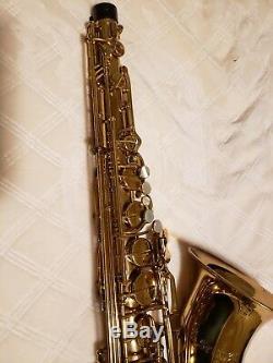 Selmer TS711 Prelude Student Tenor Sax with case