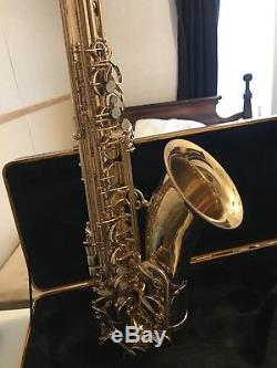 Selmer Tenor Saxophone Refurbished Great Case withStorage & New Cleaning Kit