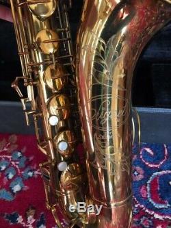 Selmer Tenor Saxophone Signet Ser. # 440333 in Original Hard Case