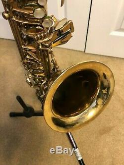 Selmer Ts Mark7 # 302593 Tenor Saxophone w. Original case %90 original lacquer