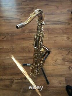 Selmer la voix tenor saxophone, used, cones with two mouthpieces, travel case