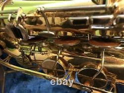 Serviced Vintage Yamaha Yts-21 tenor saxophone with Original Case & accessories
