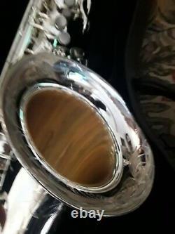 Silver Plated Phil Barone New York Tenor Saxophone Classic Model