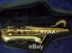 Solid American Made Quality! Selmer Signet U. S. A. Tenor Saxophone + Gator Case