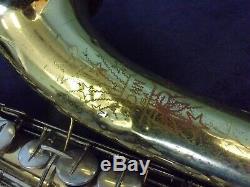 Solid Quality! Conn U. S. A. 16m'shooting Stars' Tenor Saxophone + Conn Case