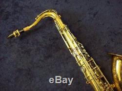 Solid Quality! Vito Japan (made By Yamaha) Tenor Saxophone + Mpiece + Nice Case