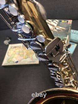 TENOR SAXOPHONE Majestic Made In Italy As Found Serial # In Pics W Case