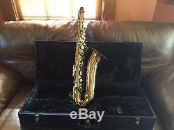 Tenor Saxophone Buescher/Elkhart with case