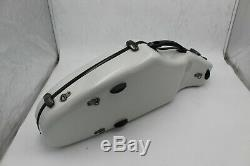 Tenor Saxophone Case Contoured engineering PC hard shell Backpack Straps, White