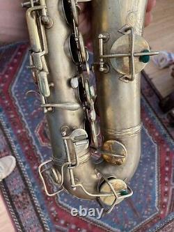 Tenor Saxophone Conn Original Gold Plated 1925