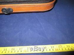 Tenor Saxophone Professional Case Light Brown color Italian leather