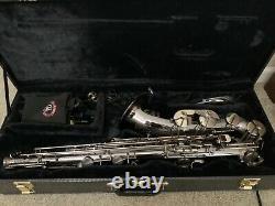 Tenor saxophone- big bell black ice nickel