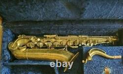 The Martin Committee Tenor Saxophone 167, XXX For Parts Or Restoration-4QSMC