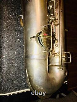 The Martin Tenor Saxophone made in 1922 With Case Vintage