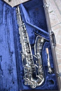 Toneking Keilwerth Tenor Vintage Saxophone, Checked, Silver, Perfekt, Yamaha Case