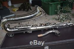 Toneking Keilwerth Tenor Vintage Saxophone, Overhauled, Silver, Perfekt, Yamaha Case