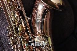 USED Allora AATS-954 Chicago Jazz Tenor Saxophone HARDSHELL CASE