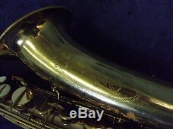 Unique Vintage Vito Tenor Saxophone + Case