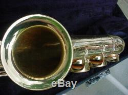 Unison S400 S400GX Satin Gold Professional Tenor Saxophone withCase L@@K