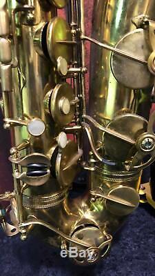 Used Henri Selmer Paris 1957 Mark VI Tenor Sax Great Condition/Case Included